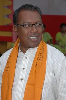Shykh Seraj during Rabi-mela, 2010