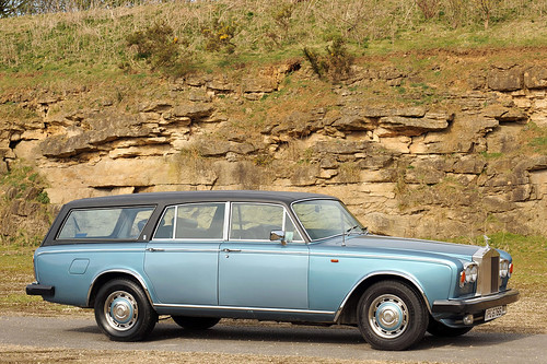 Rolls Royce Silver Shadow Estate Car - Chelsea garage by klintan77