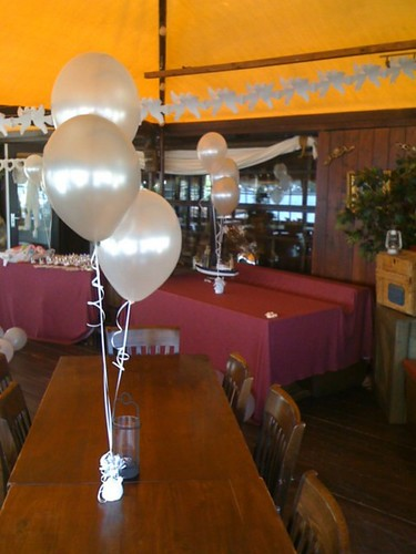 Tafeldecoratie 3ballonnen Kapitein Haak Brielle