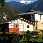 Khangchendzonga Peak Above Yuksom - Sikkim