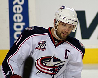 Rick Nash, Columbus' 2002 first-round pick and franchise player for 10 years, wanted out of Columbus in 2012. (5of7/Creative Commons)
