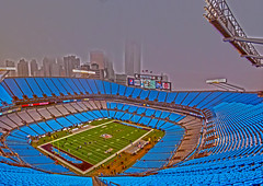 inside Carolina Panthers stadium