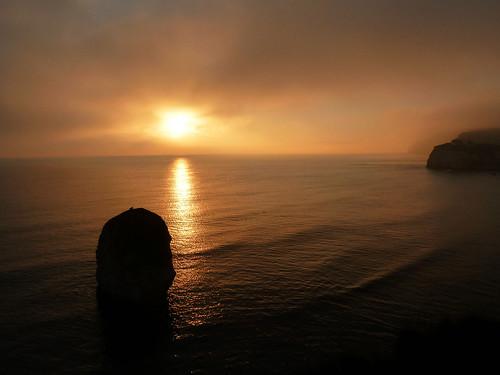Isle of Wight Sunset, England
