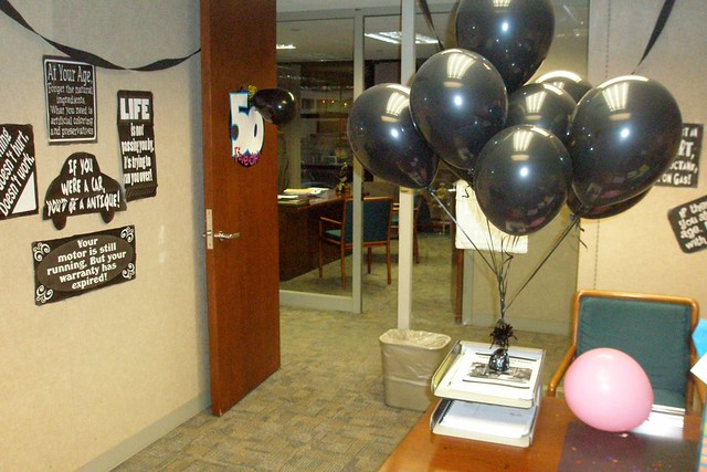 50th Birthday Decorations Office Image Inspiration of Cake and