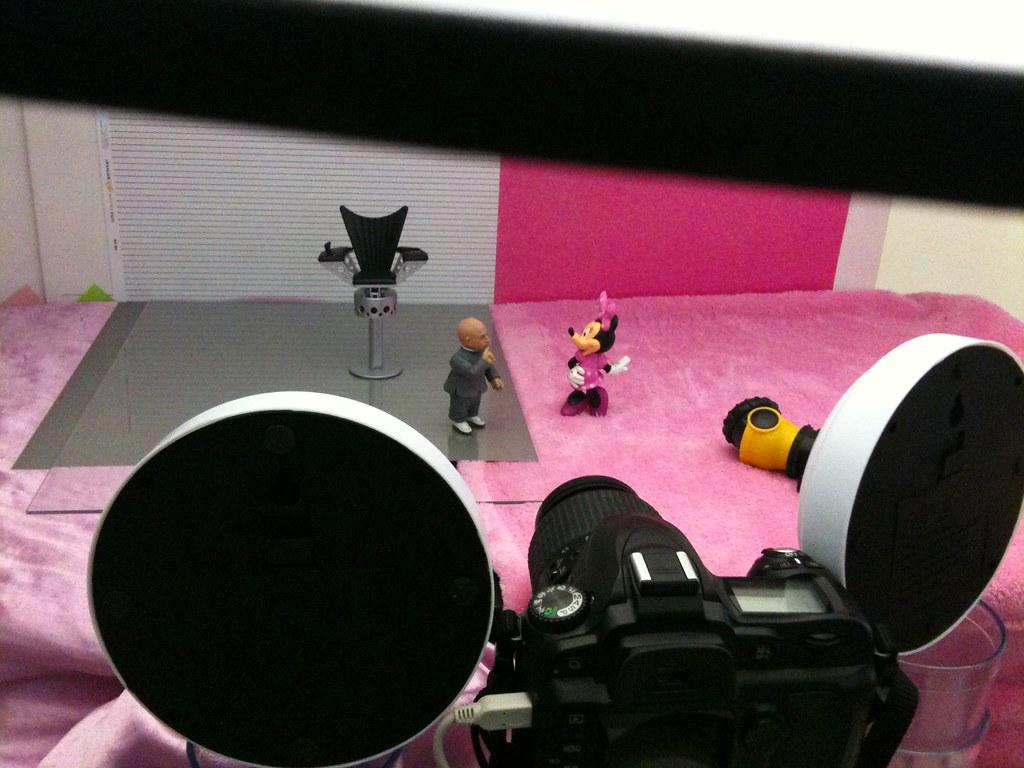 Mini-Me vs. Minnie Mouse Setup