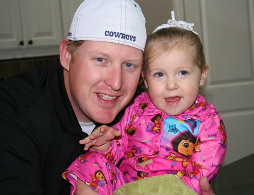 Daddy and Cheyenne