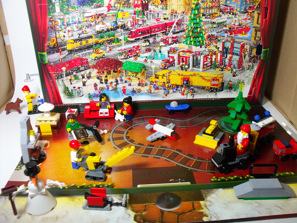 Complete 2824 Lego City Advent Calendar All 24 Models See Flickr