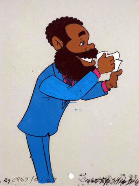 Berry Gordy Production Cel
