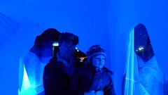 stage(0.0), ice hotel(1.0), light(1.0), blue(1.0),