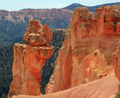 Cool rock formation at Bryce Canyon