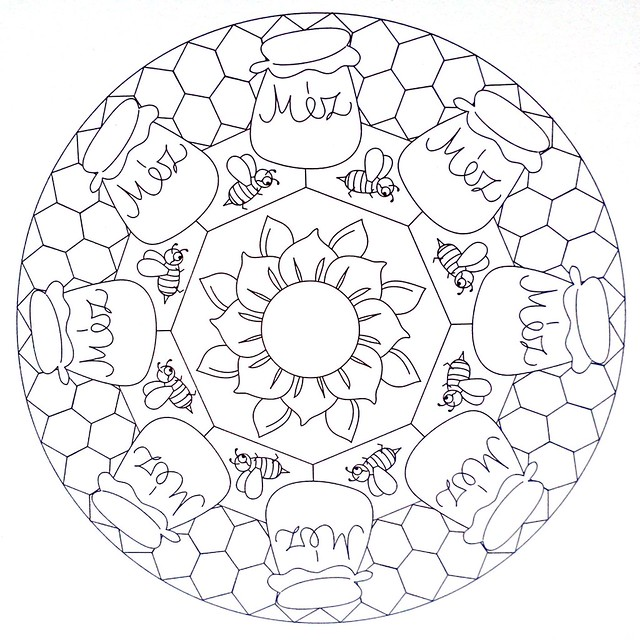 free honey bee life cycle coloring pages