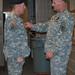 Lt. Col. Fugere Promotion