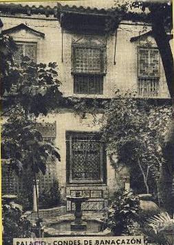 Palacio de Benacazón a comienzos del siglo XX