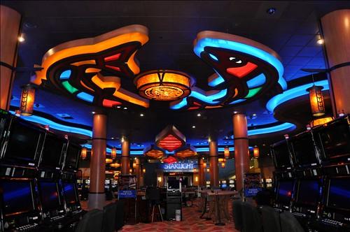 The Wallpaper Interior Casino Design Custom Interior