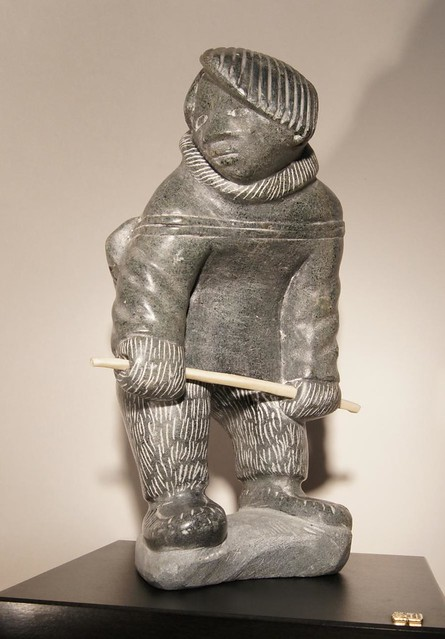 Inuit sculpture beginner s daily challenge man made