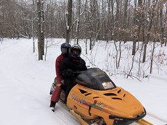 racing(0.0), auto racing(1.0), winter sport(1.0), vehicle(1.0), sports(1.0), snow(1.0), motorsport(1.0), snowmobile(1.0), land vehicle(1.0), sled(1.0),