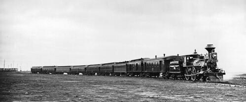 Vice-Regal train, Montreal, QC, 1878