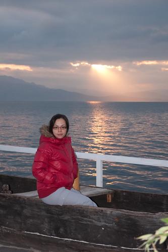 portrait cloud sunlight lake erhai 洱海 蝴蝶泉 ersea 聆海沐月
