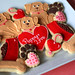 Valentines Day Puppy Love Cookies