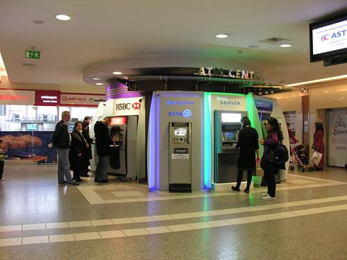 Az ATM központ