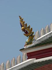 Roof detail, Wat Mongkrut Krasat Thiyaram