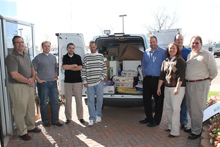 Azure Dynamics Food Drive (October 2010)