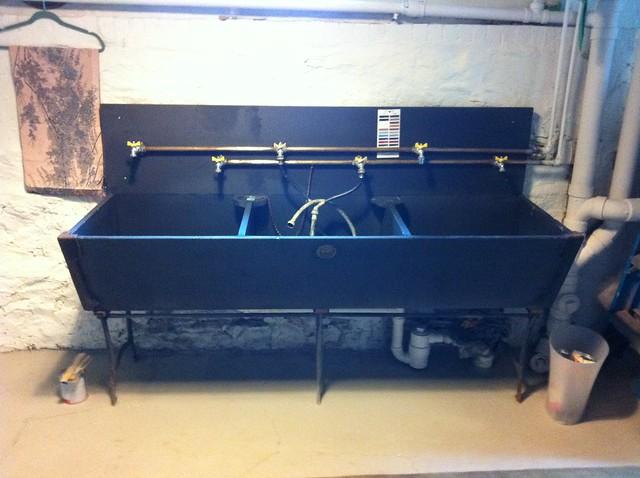 Slate Farmhouse Sink : Slate Sink