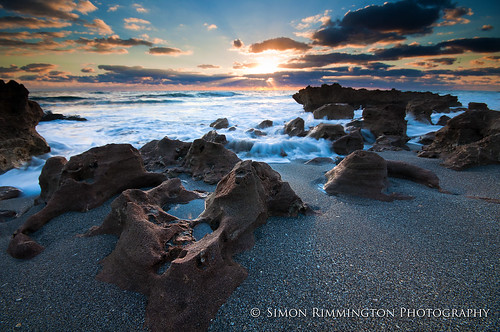 motion beach water sunrise rocks waves tequesta coralcovepark