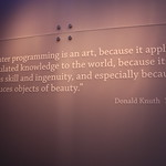 A quote by Donald Knuth