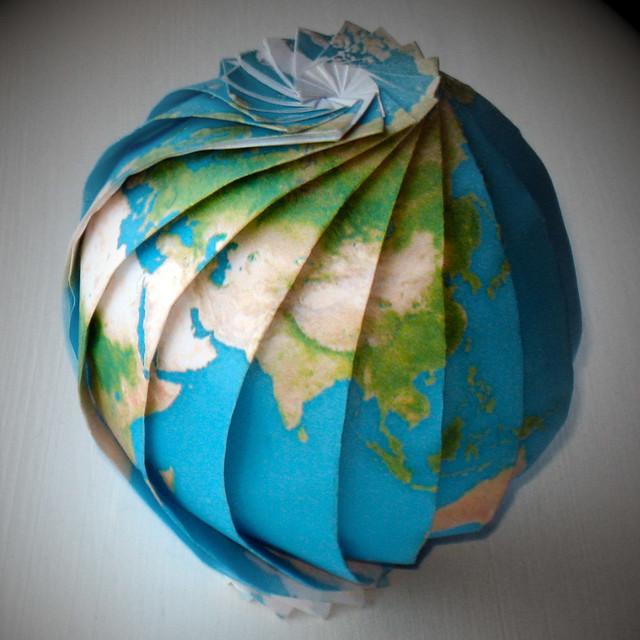 Как сделать модель земли своими руками