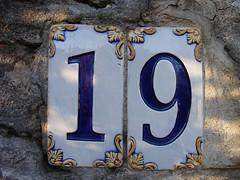 No 19 - flowery