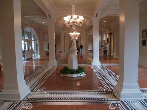 Lobby in Lightner Museum