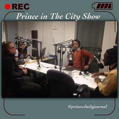Prince in The City Show: When great minds come together