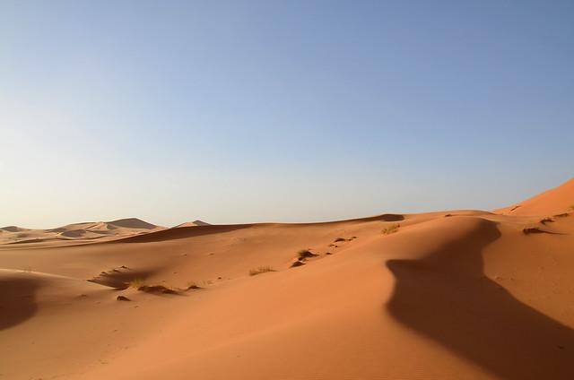 Dunas del desierto de Merzouga