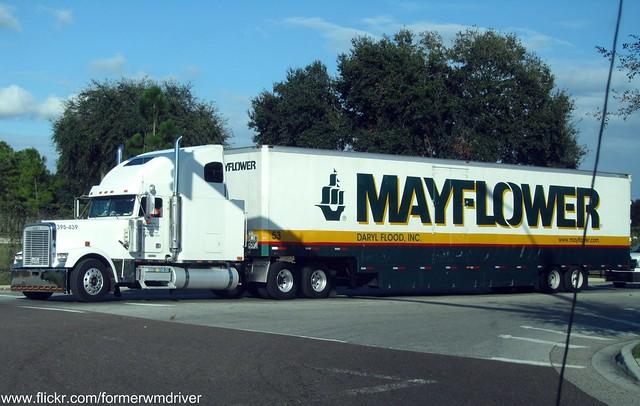 Moving truck mayflower moving truck for Mayflower car shipping
