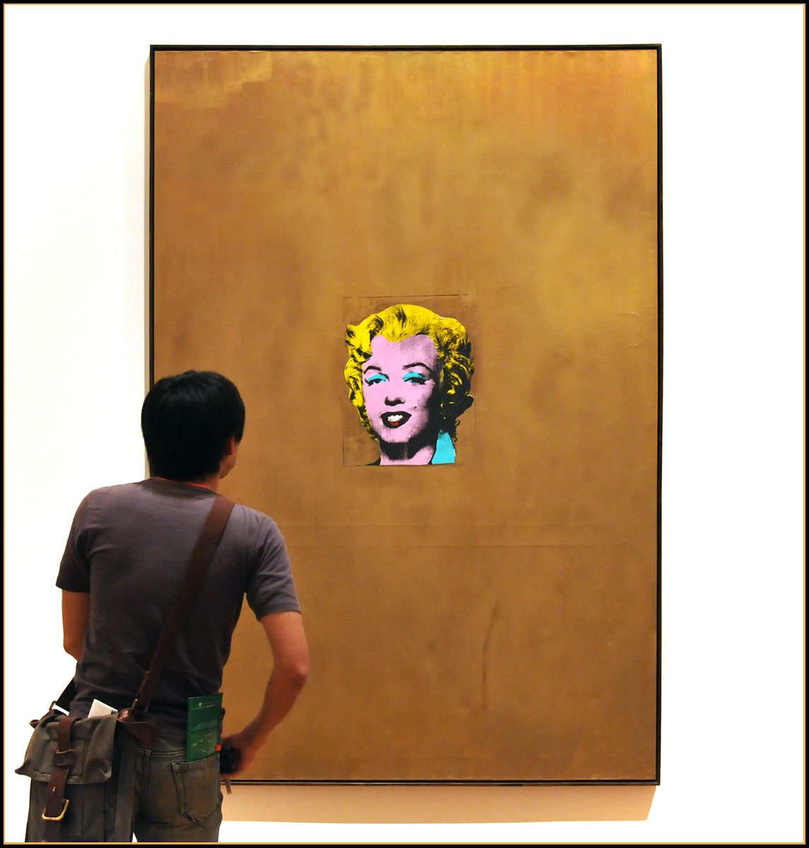 Marilyn ...  encounter of the MoMA kind