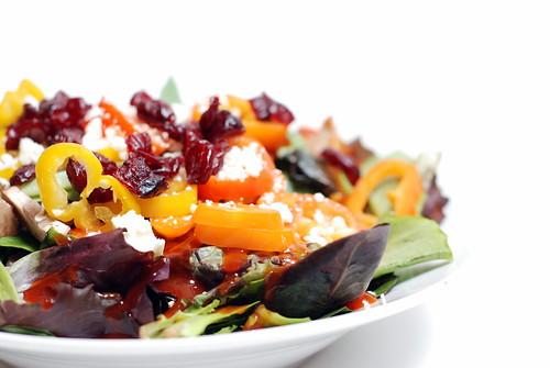 Howza boutza some salad