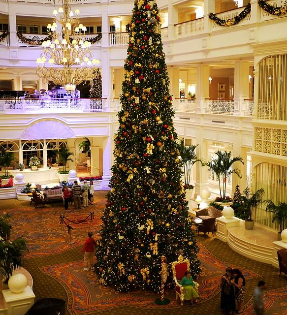 Grand Christmas Tree: Grand Floridian Christmas Tree