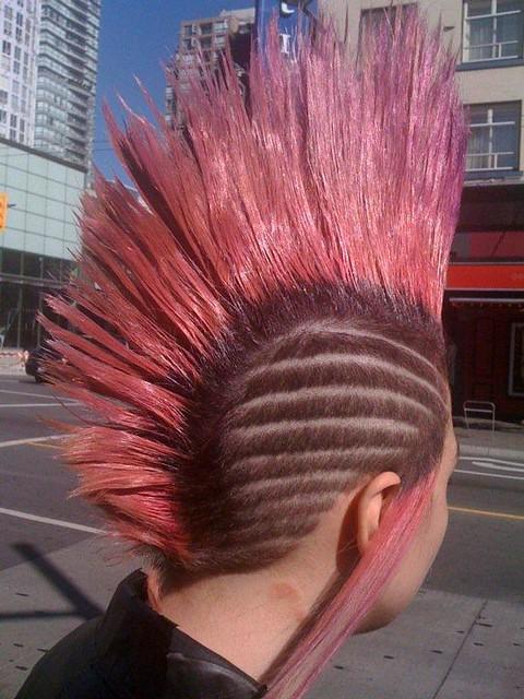 Pin hair carving designs for men