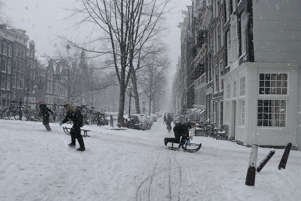 Winter joy in Amsterdam