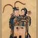 Shunga Couple, Lift Clothes Standing