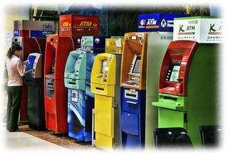 Thailand ATM's