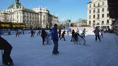 Ice Skating in Munich