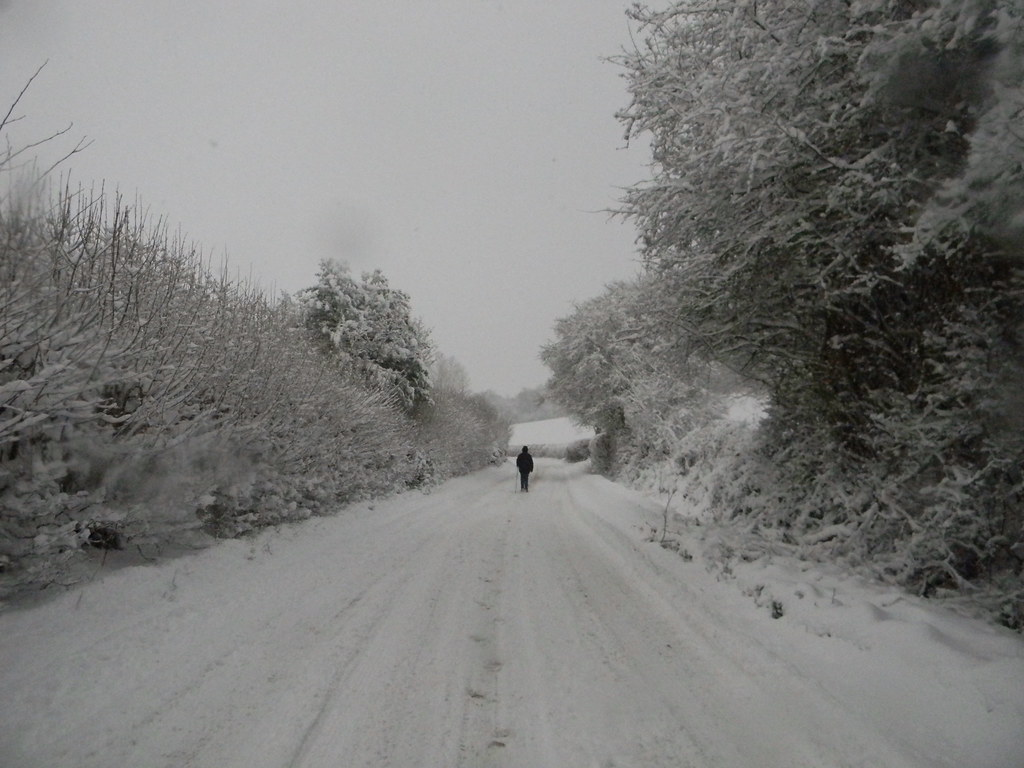 A normally busy road. Princes Risborough to Great Missenden