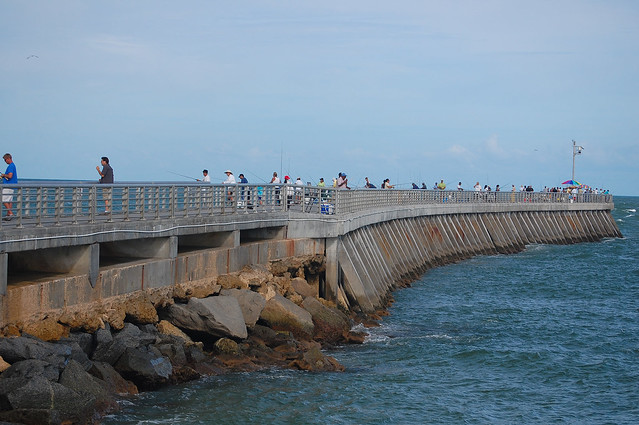 sebastian inlet jetty and fishing pier flickr photo ForSebastian Inlet Fishing Pier