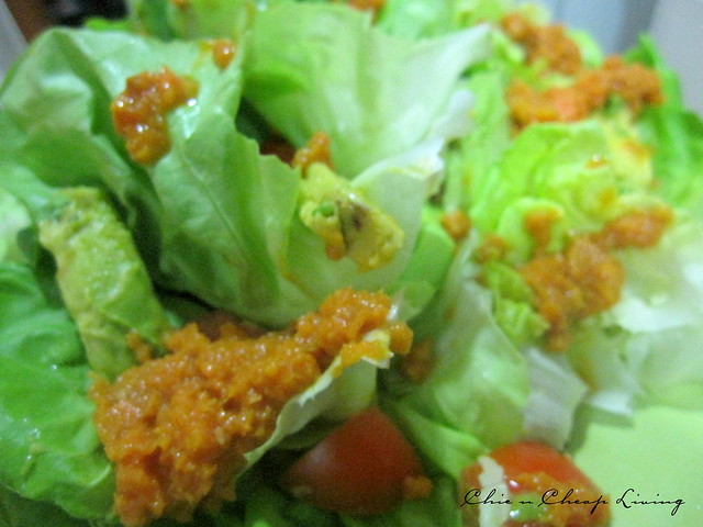 Avocado salad with carrot ginger miso dressing | Flickr - Photo ...