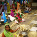 Basket Weaving at the Market in Udaipur, India