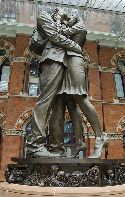 Why St Pancras S Clouds Sculptures Are On The Right Track