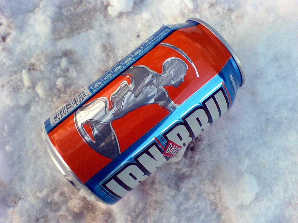 Canned Irn-Bru