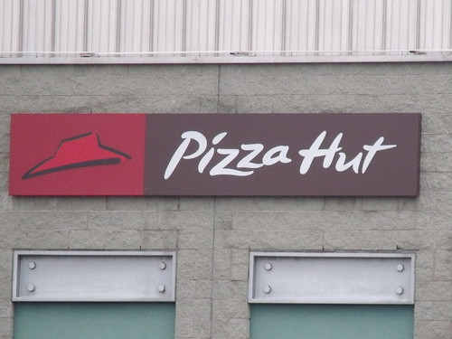 Star City, Nechells, Birmingham - Pizza Hut - sign